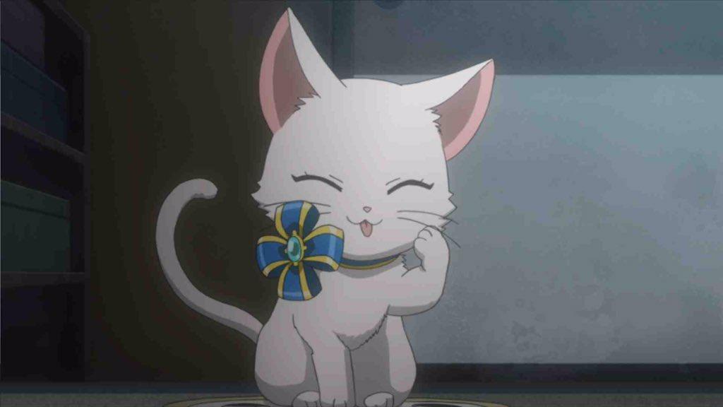 【白猫】明日放送「ミス・モノクローム」第8話に登場するキャトラのワンシーン画像が公開!これタダの猫じゃねーかwwwww【プロジェクト】