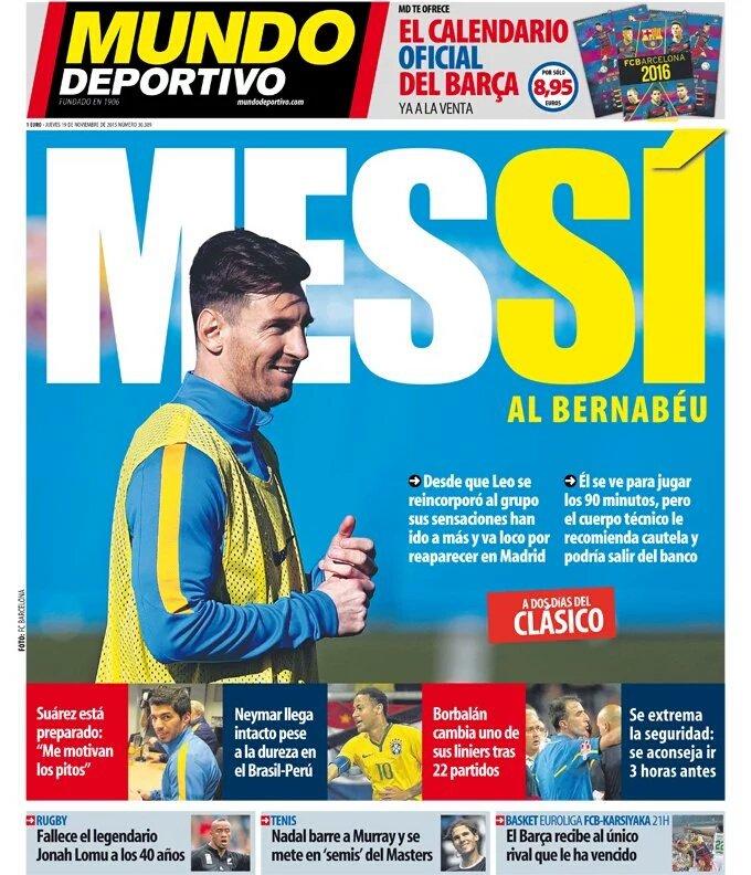 ''Mundo Deportivo'' ning bugungi sonida''