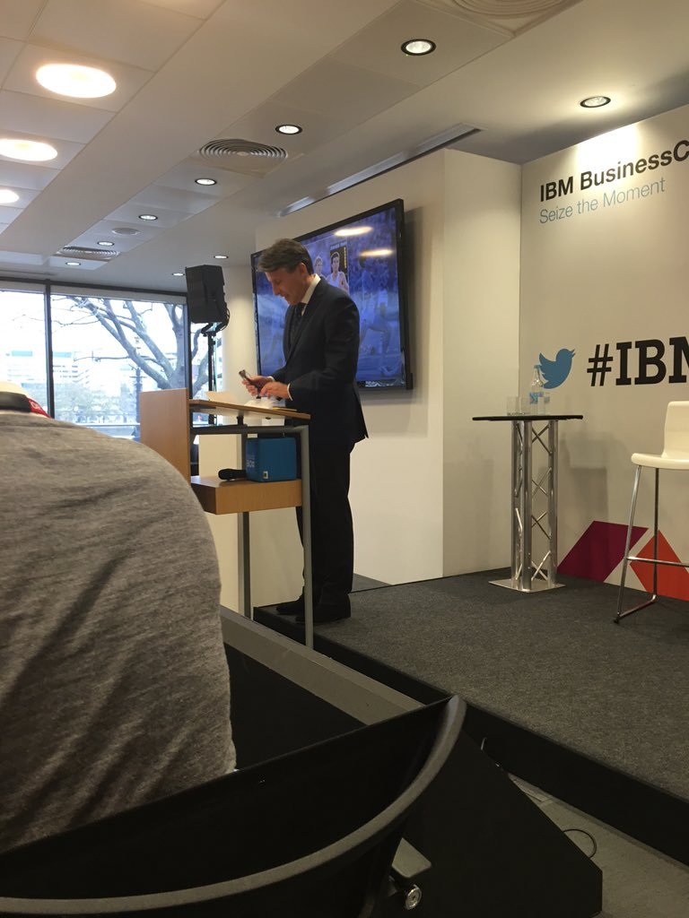@sebcoe up first this morning at #IBMBCUKI #FSconnect - That 2012 video still brought a tear to my eye! #fb #in https://t.co/TgEaKAdzg6