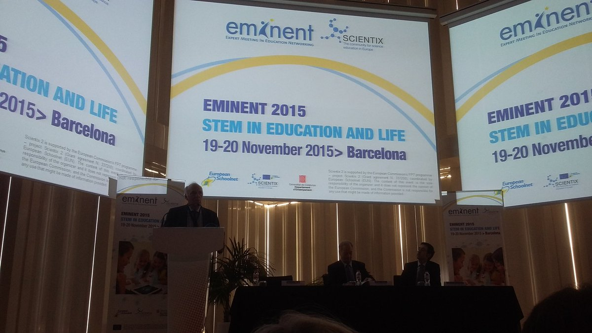 At #EMINENT2015. Eager to hear about inspiring projects and let you know what we are doing at @magmarecerca. https://t.co/EO1Amh8LSa