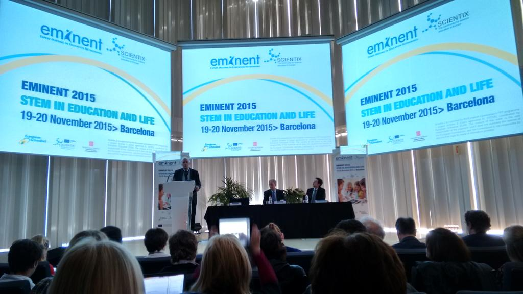 #eminent2015 kicks off in Barcelona. Will be two busy days! We will present @IAUastroEDU https://t.co/60g6efAVVB