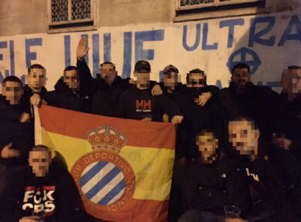 Anti uefa mafia on twitter pyromaniatics rcde firm for Irriducibili shop