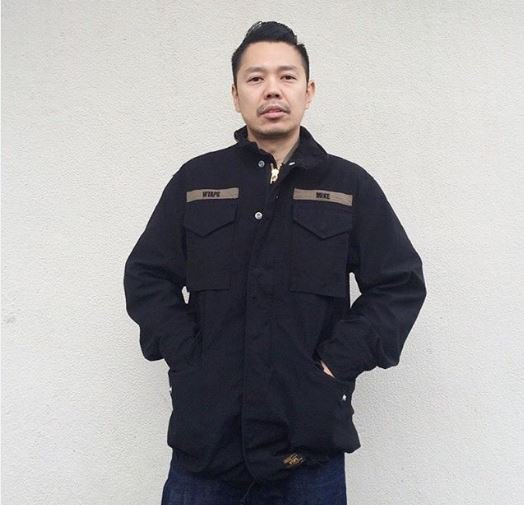 """I.T on Twitter: """"WTAPS designer Tetsu Nishiyama presents M-65 Jacket from  the latest WTAPS FW15 Collection, looking extremely cool!  https://t.co/2BaORXoOEe"""""""