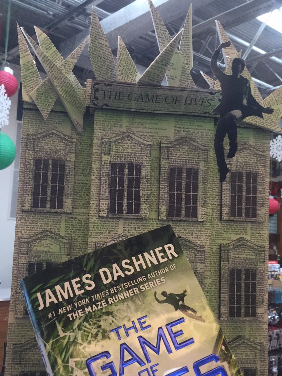 It's Dashner Day at the Dallas Flagship! Meet @JamesDashner tonight at 7 p.m. #GameOfLives https://t.co/hDxuPcZ3ch https://t.co/b4b5PMvJds