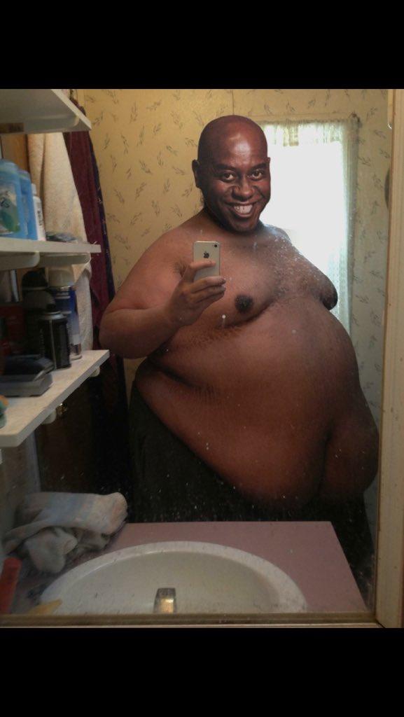 fattest man ever Black
