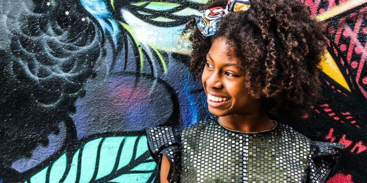 MC Soffia: 'Quero que todas as crianças negras se aceitem como negras'  https://t.co/wk34rfZZ4v #Mulheres
