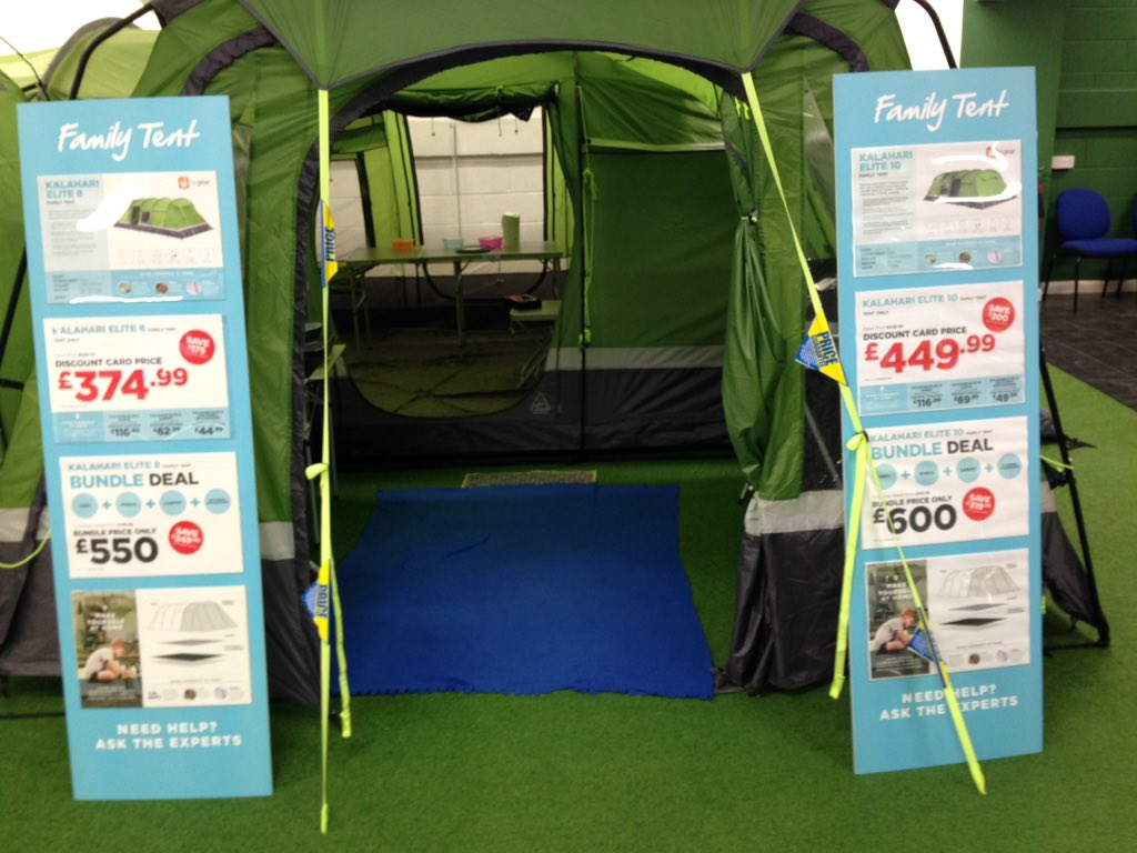 GO Outdoors Lakeside on Twitter  Kalahari elite 8 u0026 10 tent in stock #tent #c& #holiday @tent_TALK @intuLakeside @GOoutdoors //t.co/7G3mDrCZv8  & GO Outdoors Lakeside on Twitter: