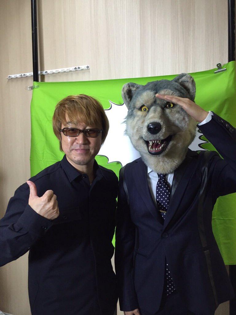 先日ゴ一緒シタABEDONさんト! 光栄デス! WOWOWノ番組デ共演スルヲ! OAハ1/4予定!
