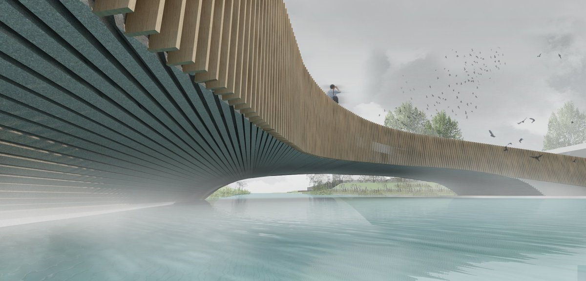 Vleermuisbrug Poelzone wint ARC award in categorie DETAIL. Gefeliciteerd https://t.co/L07YYVrLNO