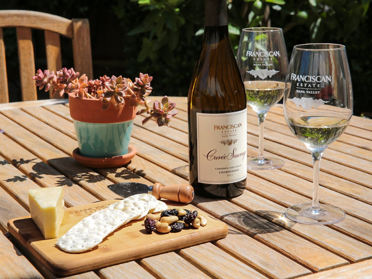 Throwback Thursday: Taking in the sunshine outside of our tasting room while sipping on Cuvee Sauvage. #tbt https://t.co/27J6JEcXPv