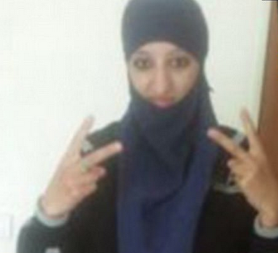 Hasna Ait Boulahcen – Muslim hag who blew herself up