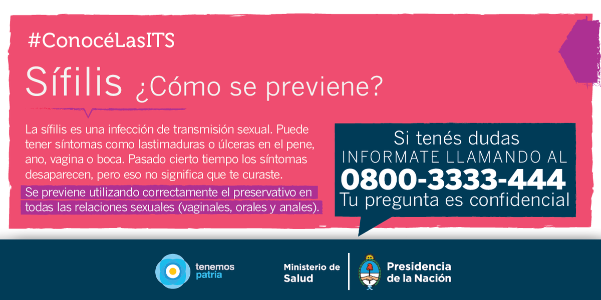 Frases De Prevencion De La Sifilis: Sífilis Blog (@SifilisBlog)