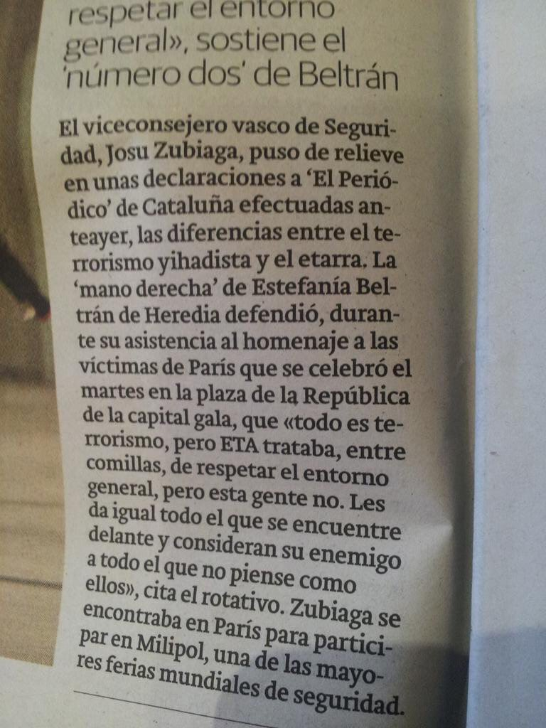 """""""Asesinó a su mujer porque la quería y deseaba mantener el entorno"""". Eso ha dicho este hijodeputa del gobierno vasco https://t.co/FQakskQWlw"""