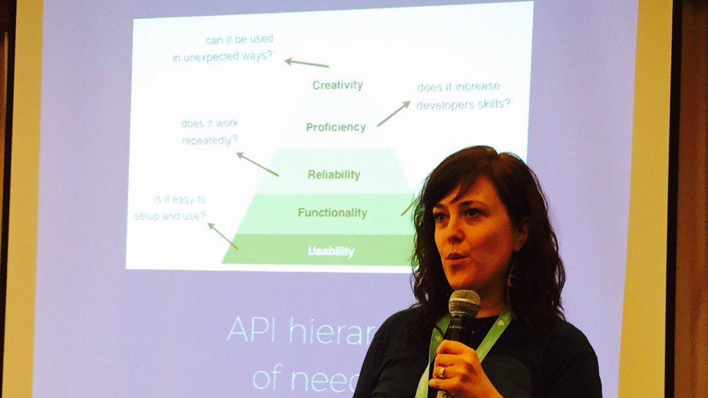 API hierarchy of needs by @kristen_womack #apistrat https://t.co/HFu30H3enK