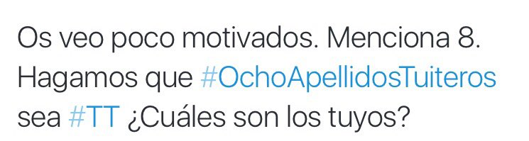 Hagamos que #OchoApellidosTuiteros sea #TT #LaHoraMagica659 @JuanfraEscudero https://t.co/mv8RsKMphw
