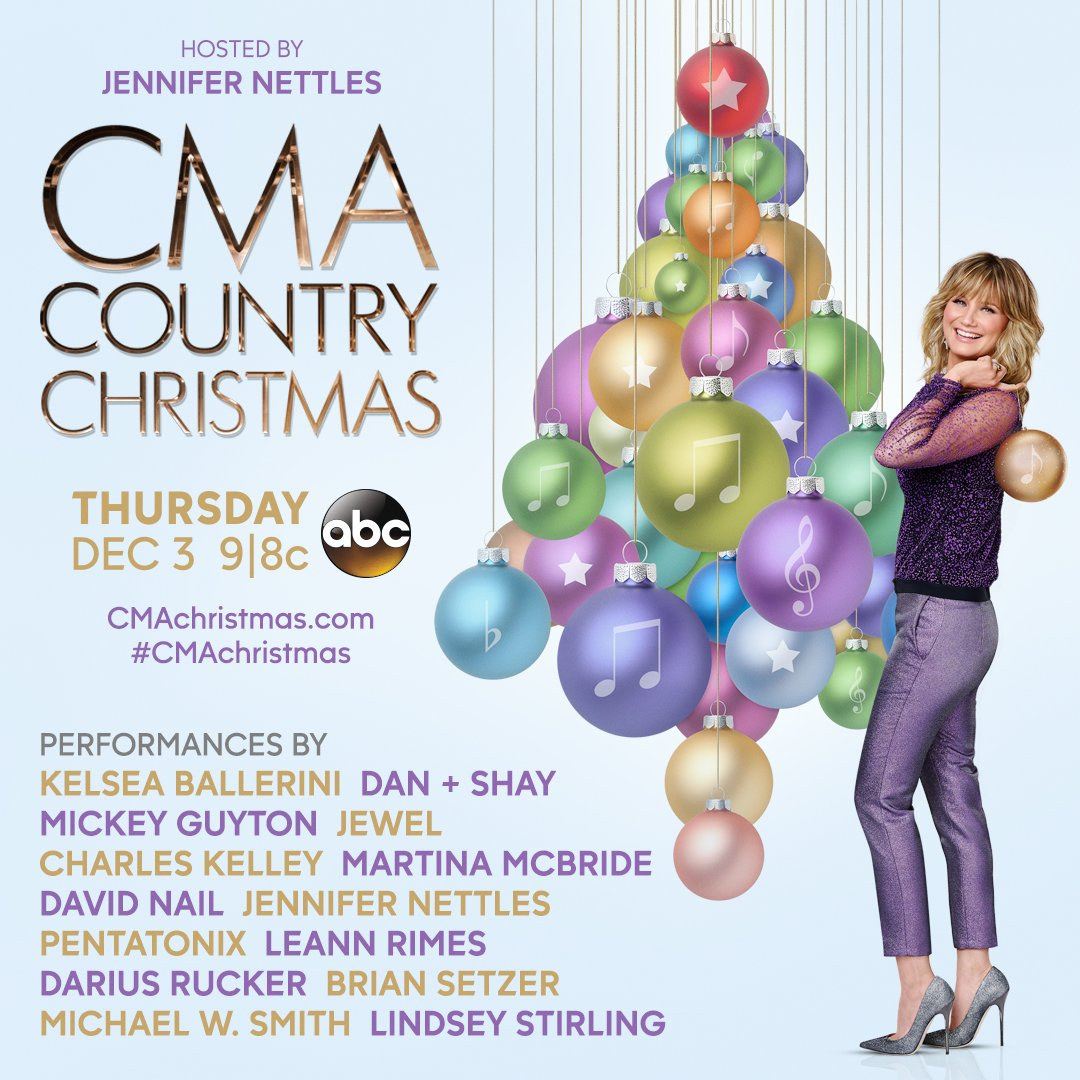 cma country music on twitter cmachristmas is 2 weeks from tonight watch thurs 123 at 98c only on abc httpstcoswajzrcux2 - Cma Country Christmas 2015