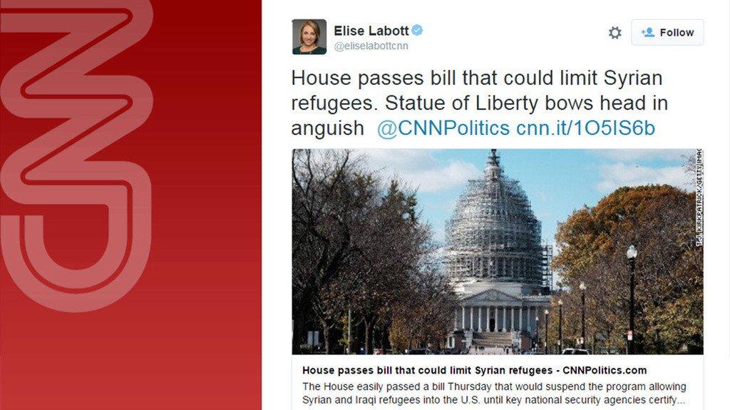 Elise Labott (CNN) moans over American SAFE Act