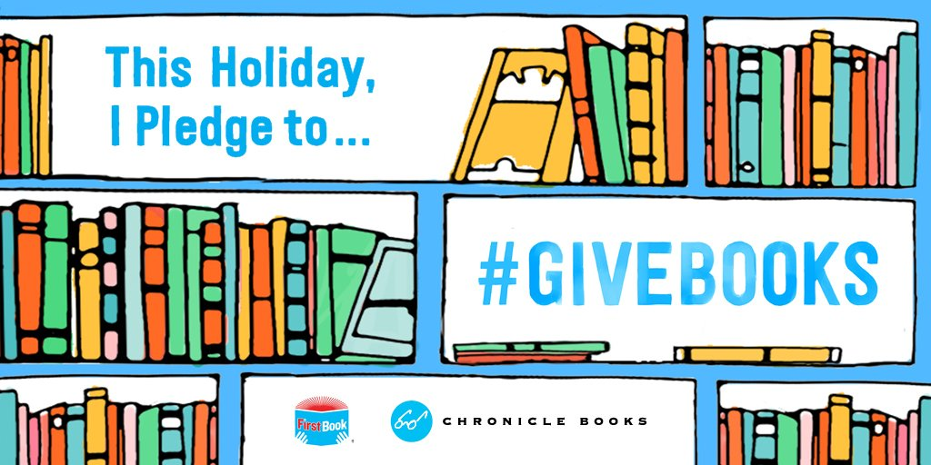 For every RT, we're donating a book to a child in need. It's that simple. #GiveBooks https://t.co/ip9UGYvQy3 https://t.co/L5fVzHI6xn