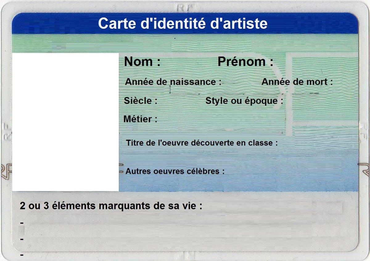 ou faire une carte d identité Logann VINCE on Twitter: