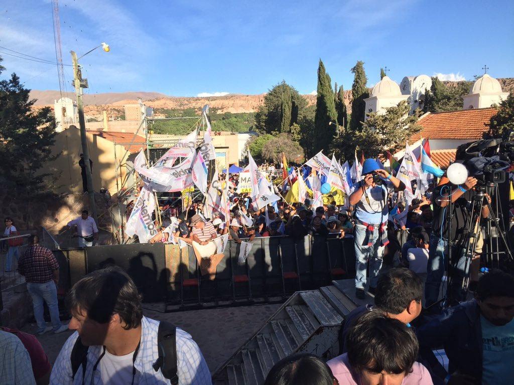 Jujuy y el pais listos para el cambio. El domingo #MacriPresidente #YoCambio https://t.co/3kvuj58UX7