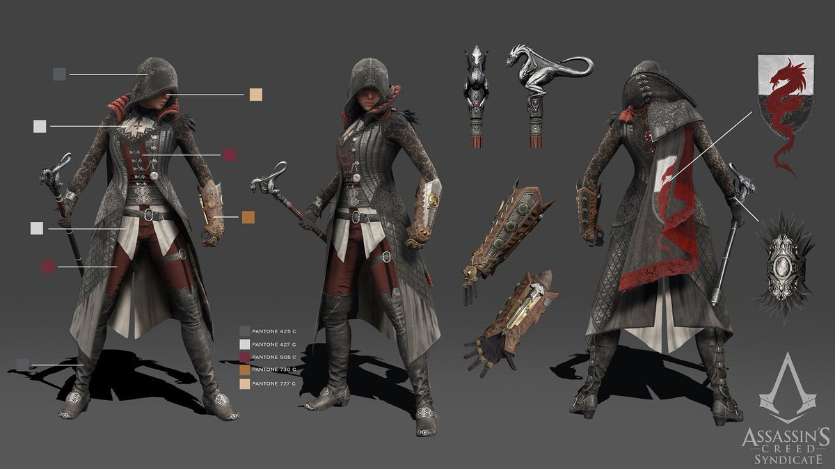 Assassin S Creed On Twitter We Are Excited To Share Reference Turnarounds For Jacob Evie S Victorian Legends Outfits Https T Co Sdgygldsbw Https T Co Ozccby6cjp