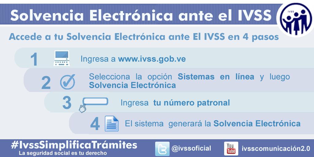 En solo 4 pasos te enseñamos cómo obtener tu Solvencia Electrónica en el IVSS