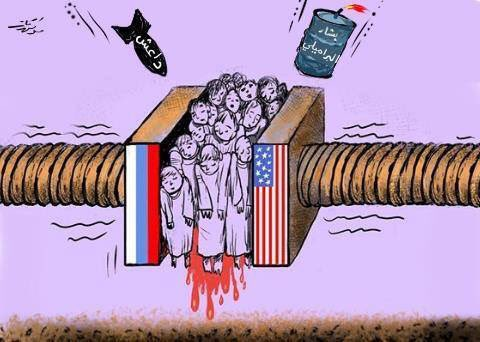 Assad regime, ISIS & the big two. God help the people of #Syria https://t.co/VdbjCq1NSM