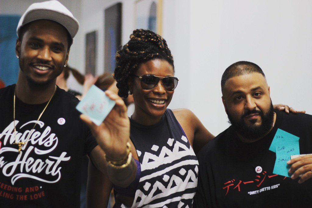 #lunchbagmiami w/@TreySongz #angelswithheart foundation @djkhaled https://t.co/k3F4mOnMvs