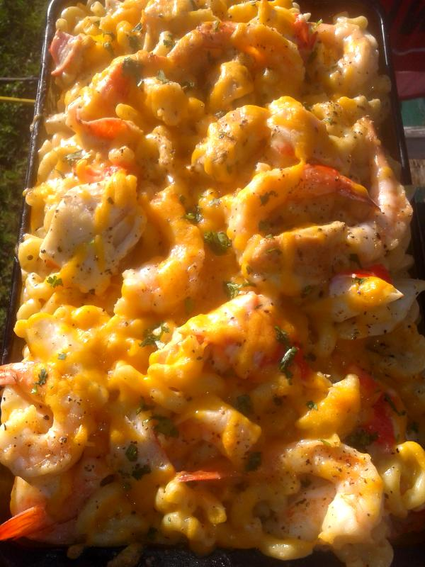 Chef Ricardo Adams On Twitter Quot Sunset Shrimp Grilled Chicken And Crab Macaroni And Cheese