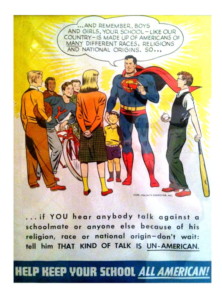 This ad from the 1950's is perhaps Superman's finest moment. https://t.co/Lrgb93uP8F