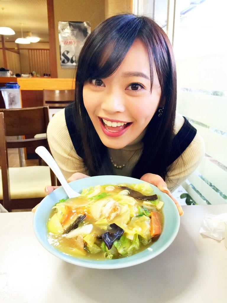 食レポが上手そうな松本圭世