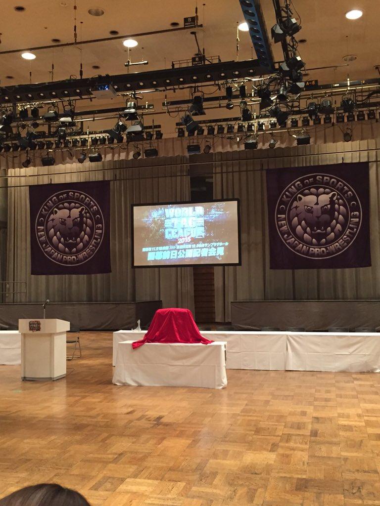 もうすぐ始まります!開幕前日会見。 #njwtl https://t.co/2jBaQxtIg4
