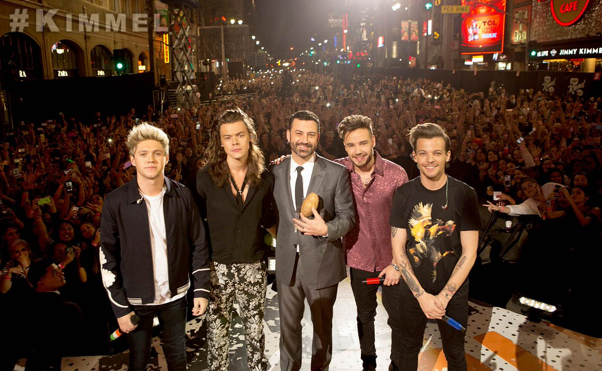 TONIGHT we're shutting down Hollywood Blvd. for @OneDirection - and a potato. @One_D_Potato #Directioners