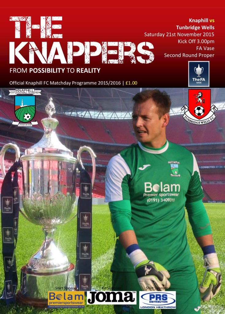 Knaphill Football Club On Twitter Front Cover Of Saturdays