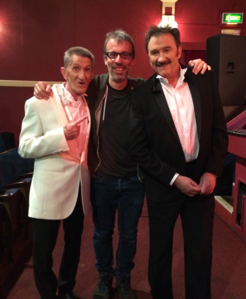 """""""Another pic of the Chuckle Bros with what looks like a massive cock"""" """"How dare you!"""" (They did an episode of #Josh) https://t.co/eKF0imHWhQ"""