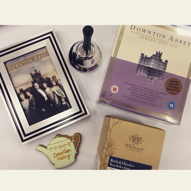 It's #FreebieFriday! RT and follow to be in with a chance of winning a #Downton series 1 to 6 boxset! Ts & Cs apply