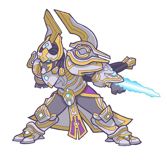 Artanis, from Heroes of the Storm @BlizzHeroes and Starcraft @StarCraft https://t.co/bDIvbyQVfd