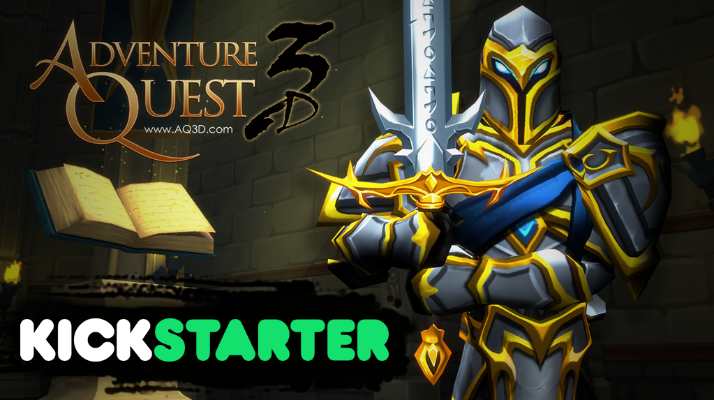 The AdventureQuest #Kickstarter has just started at https://t.co/91W7eM9GsW ! https://t.co/rJmGebbwmS