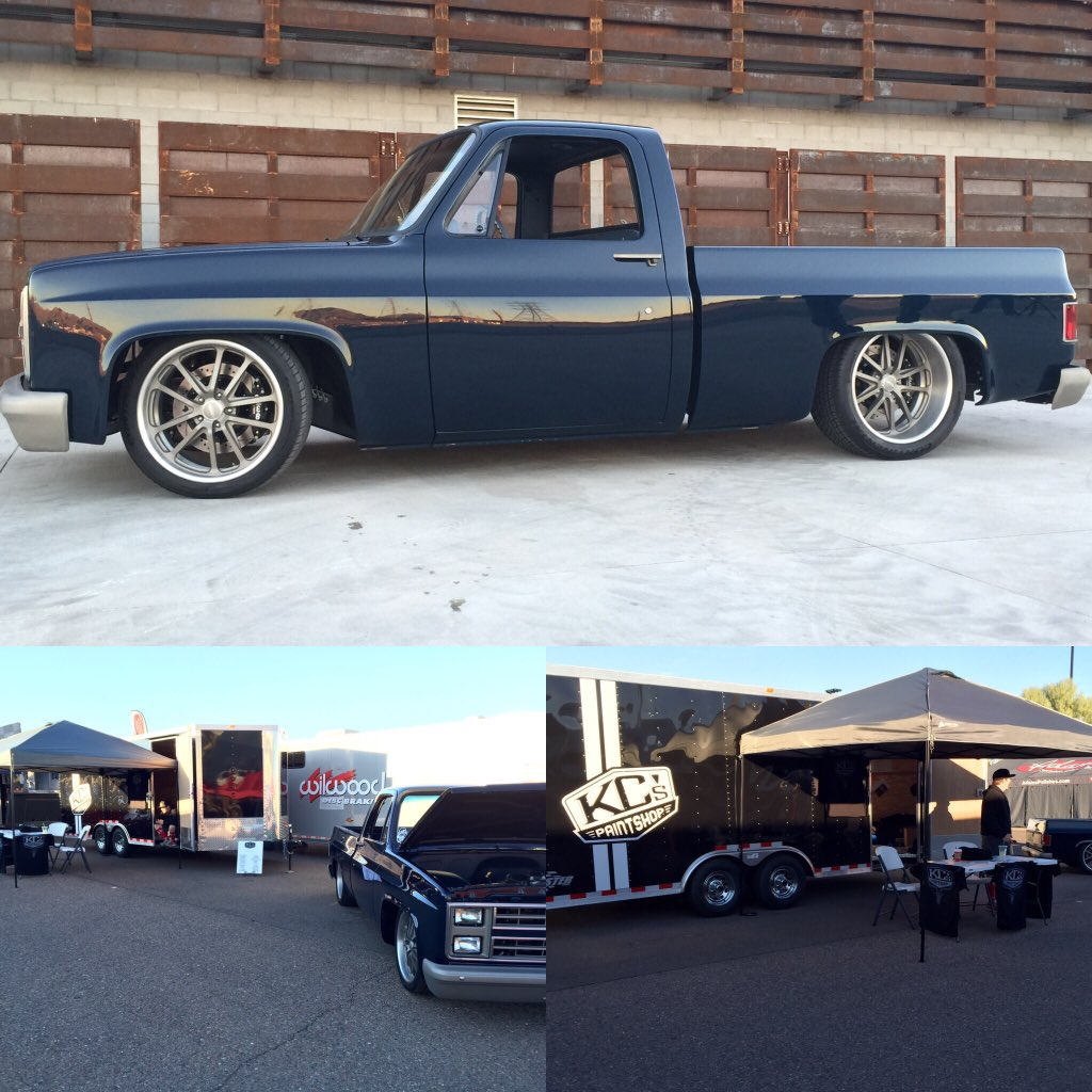 Kc 39 s paint shop on twitter here at goodguys in az all for Kc paint shop