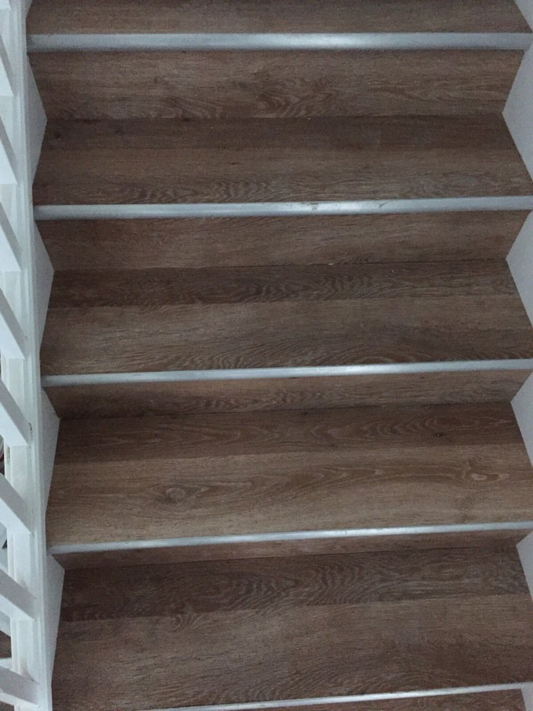 Lvt On Stairs Walesfootprint Org