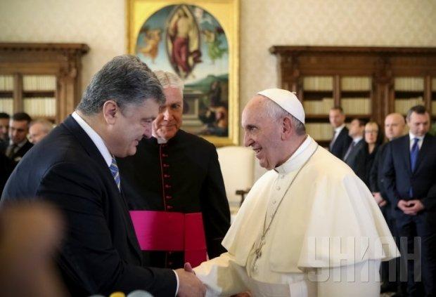 Папа Римский Франциск одобряет Минский план по Донбассу, - Порошенко - Цензор.НЕТ 5904