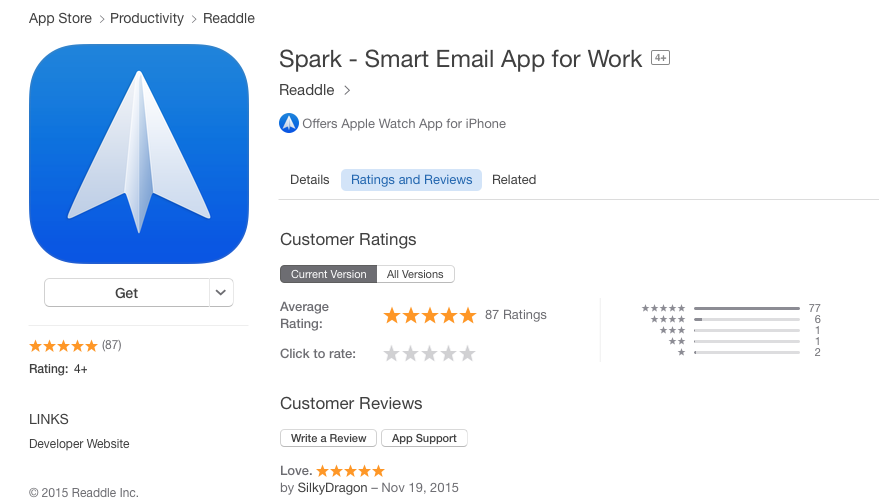 SparkMail on Twitter: