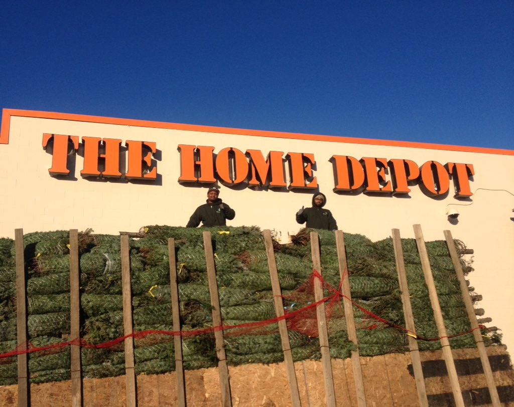bill thomas on twitter danbury home depot is getting ready for our customers with fresh cut christmas trees danburypride httpstco2zry0t13t6