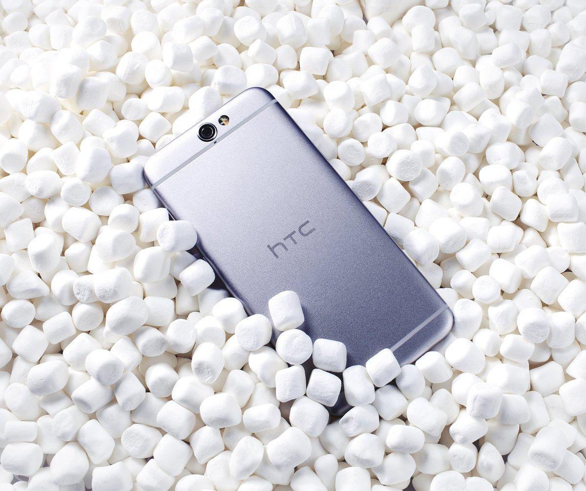 Кому зефирку? HTC One A9 с Android 6.0 Marshmallow. #HTCOneA9 https://t.co/QEC1NCZ3L7