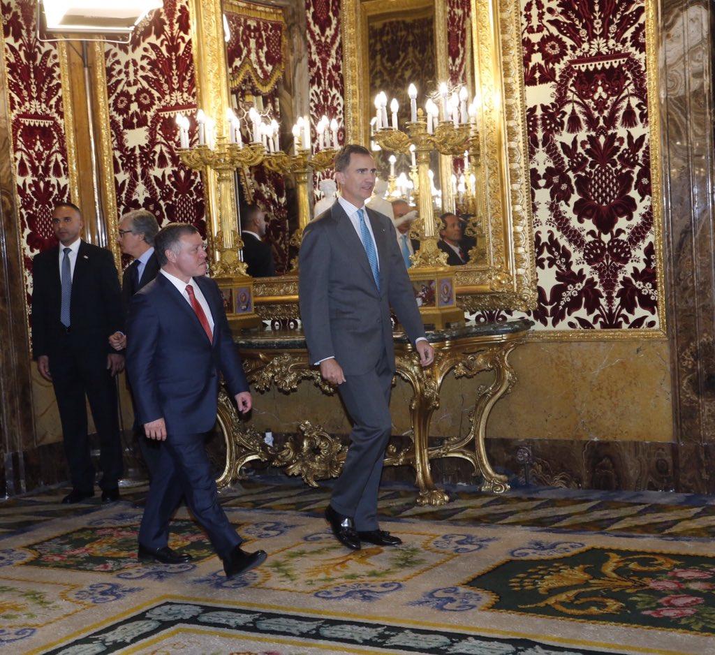 Casa de s m el rey on twitter fin de la visita de - Casa de los reyes de espana ...