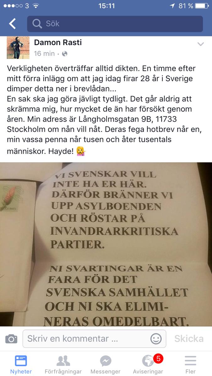 Amanda bjorkman danska regeringen vill fornedra flyktingar