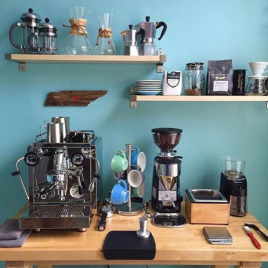 Chris Coffee Service On Twitter A Lovely Photo From Rocket Espresso S Facebook Page Let See What Your Home Bar Looks Like