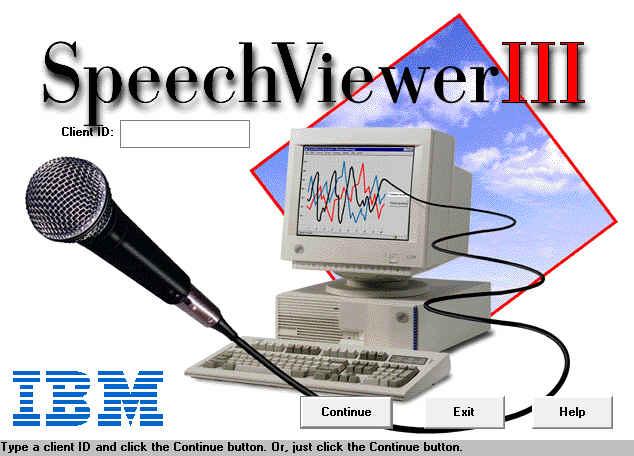 speechviewer iii