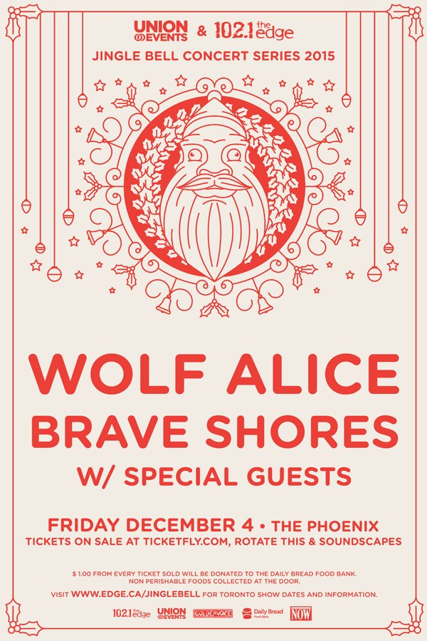 #RETWEET for your chance to WIN 2 tickets to @wolfalicemusic & @BraveShores Dec 4! @the_edge @UnionEventsEast #JBR https://t.co/5BcnuYK11N