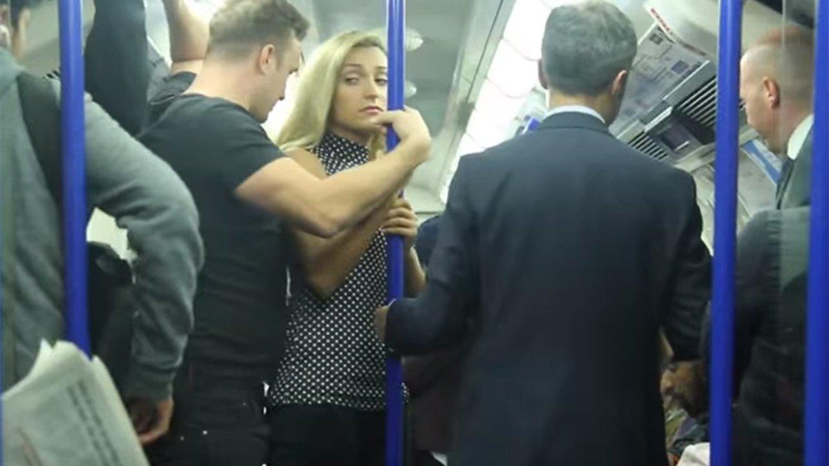 Chica en el metro - 1 part 7